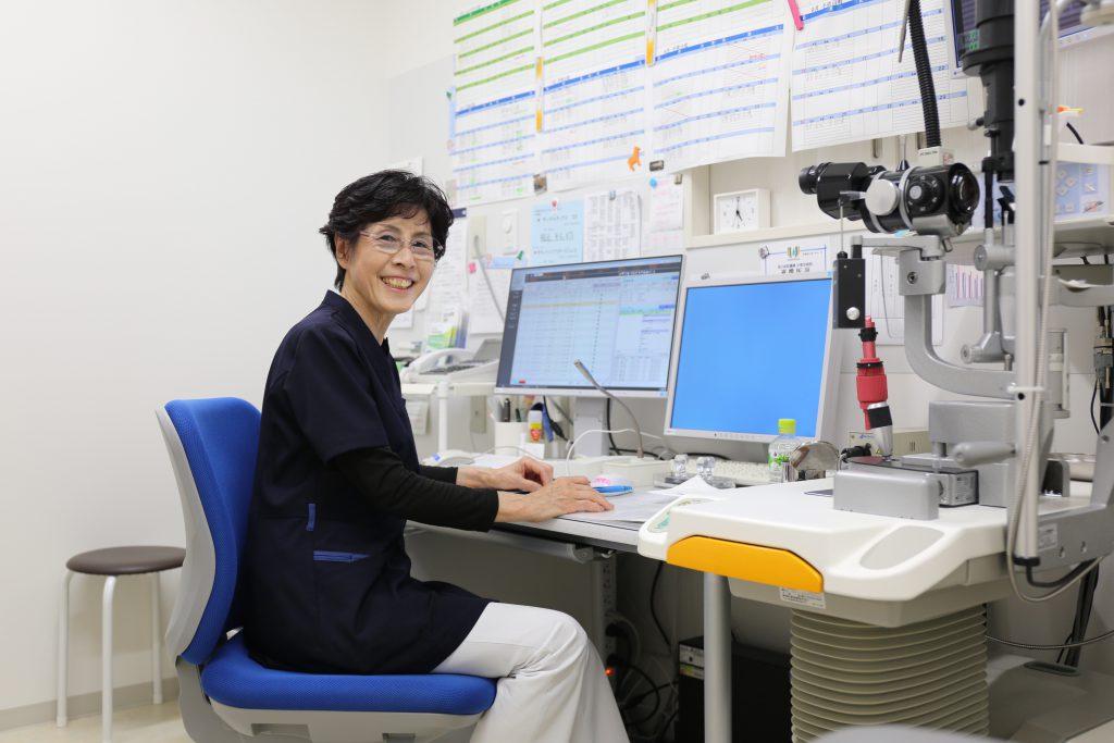 眼科医師 永田紀子